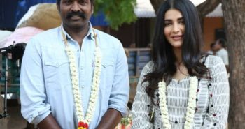 Vijay Sethupathi and shruti pairing for 1st time