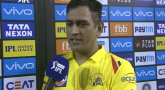 MS Dhoni Not satisfied with Chepauk pitch