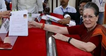 Sonia Gandhi filed her nomination at Rae Bareli