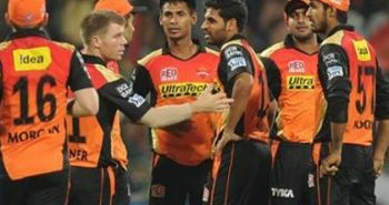 Sunrisers Hyderabad took first place in IPL
