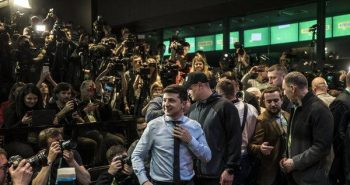 Volodymyr Zelensky won Ukraine election