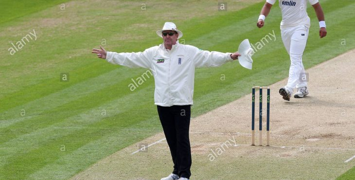 Cricket umpire passed away after a month being hit by ball