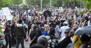 Man critically injured by the attack of dallas riots in US