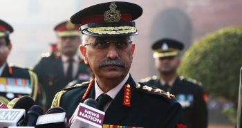 Situation is under control in Border, MM Naravane said