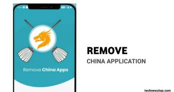 Remove china apps scaling up over 5M downloads