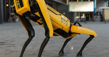 """Boston dynamics launched new robot called """"spot"""""""
