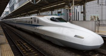 Japans new bullet train pioneers safe drive even in earthquake