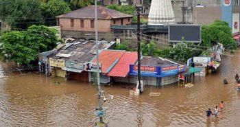 Parts of Maharashtra were flooded with heavy rainfall