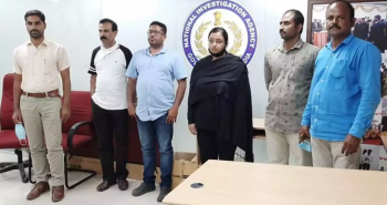 Most searched accused for smuggling gold, arrested by NIA in Bengaluru