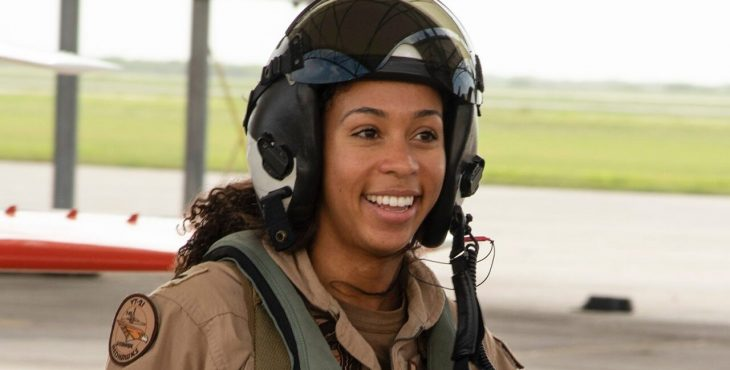 First black female tactical aircraft pilot to enter US Navy
