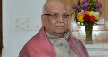Madhya Pradesh Governor Lalji Tandan passed away