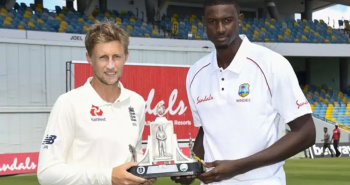 England won the series against west Indies as 2-1