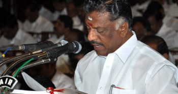 Tamil Nadu Finance Minister Mr O. Panneerselvam, presenting the states's budget for the year 2012-2013, at the Assembly, in Chennai on Monday ( March 26, 2012) Photo : Bijoy Ghosh To go with R. Balaji's report